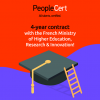 PeopleCert signs 4-year contract with the French Ministry of Higher Education, Research & Innovation