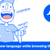 Fluent: Learn a New Language by Browsing the Web