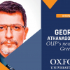 George Athanasopoulos, Academic Coordinator, is talking about OUP's new start in Greece